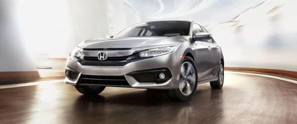 2018 Honda Civic front exterior
