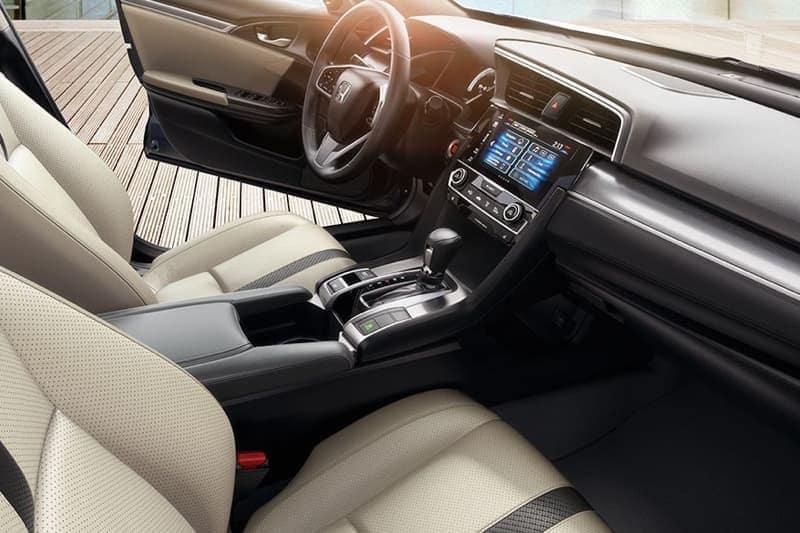 2018 Honda Civic Sedan Front Interior