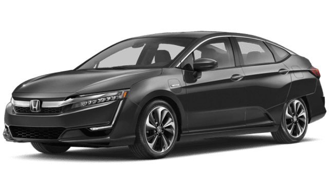 2018 Honda Clarity Plug-In Hybrid white background