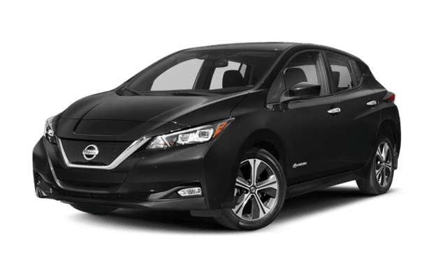 2018 Nissan LEAF white background