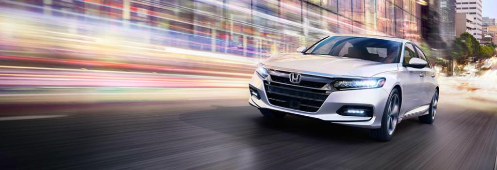 2018 Honda Accord driving fast