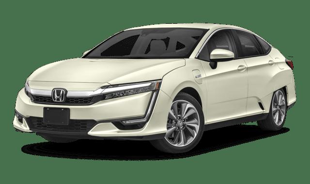 2018 Honda Clarity Plug-In Hybrid Sedan white background