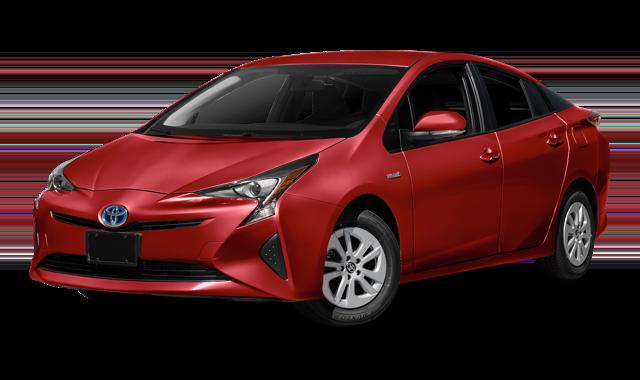 2018 Toyota Prius white background