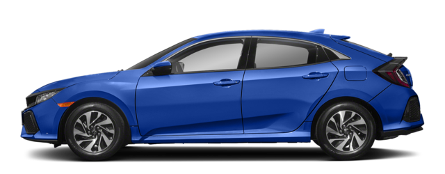 2018 Honda Civic Hatch Blue