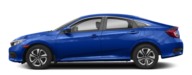 2018 Honda Civic Sedan Side Compare