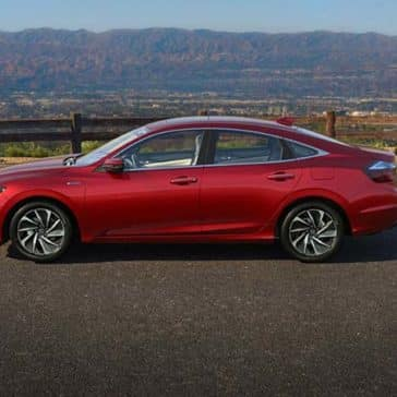 2019 Honda Insight parked