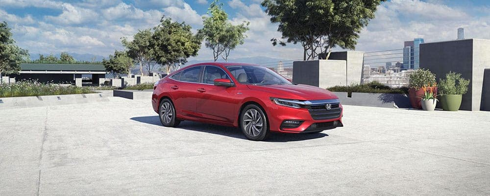 2019 Honda Insight Exterior in Parking Lot