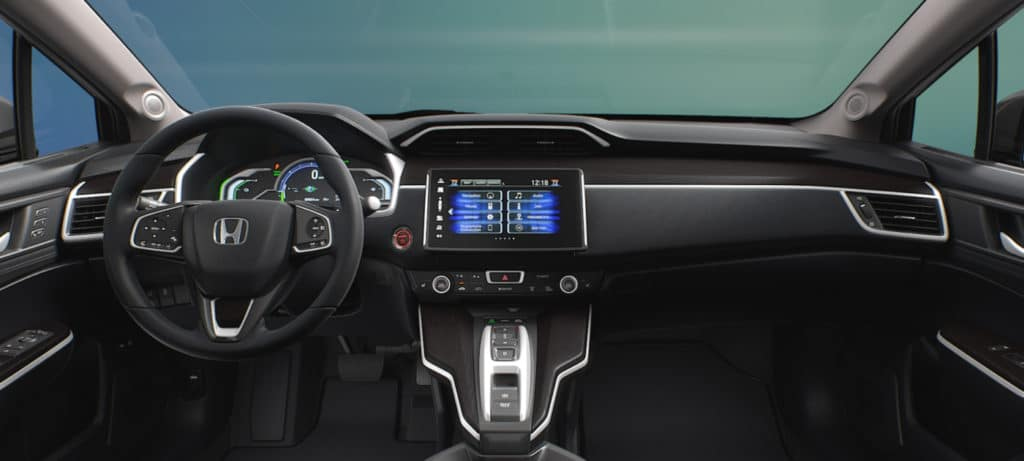 Honda Clarity Dashboard