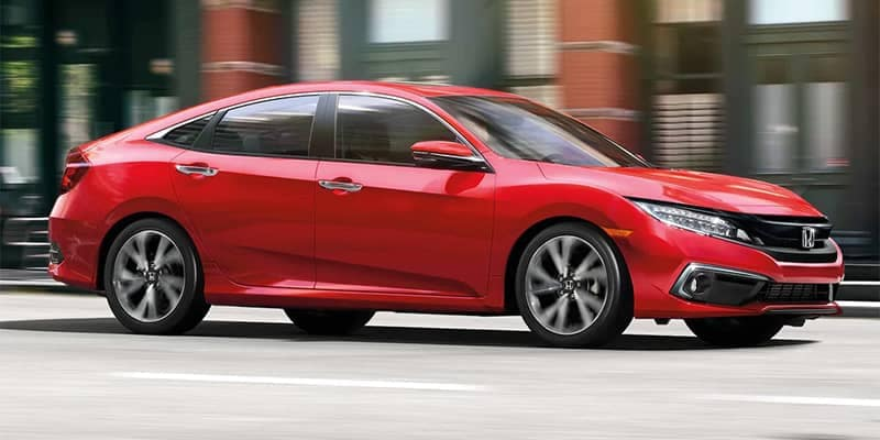 2019 Honda Civic Sedan Driving