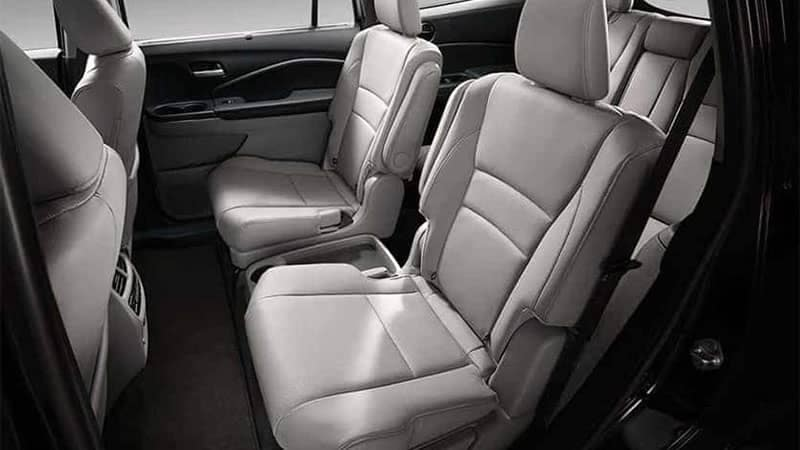 2019 Honda Pilot Interior Rear Seating