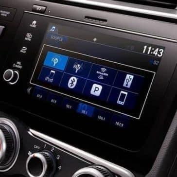 2019 Honda Fit Audio System Display Screen