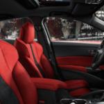 Red 2019 Acura ILX Interior