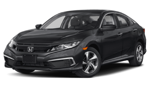 Black 2019 Honda Civic