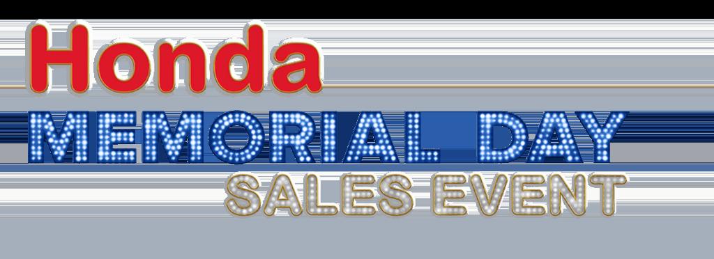 Honda Memorial Day Logo