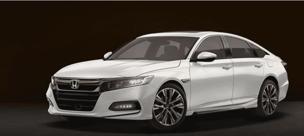 White 2019 Honda Accord