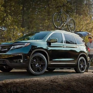 2020 Honda Pilot In The Woods
