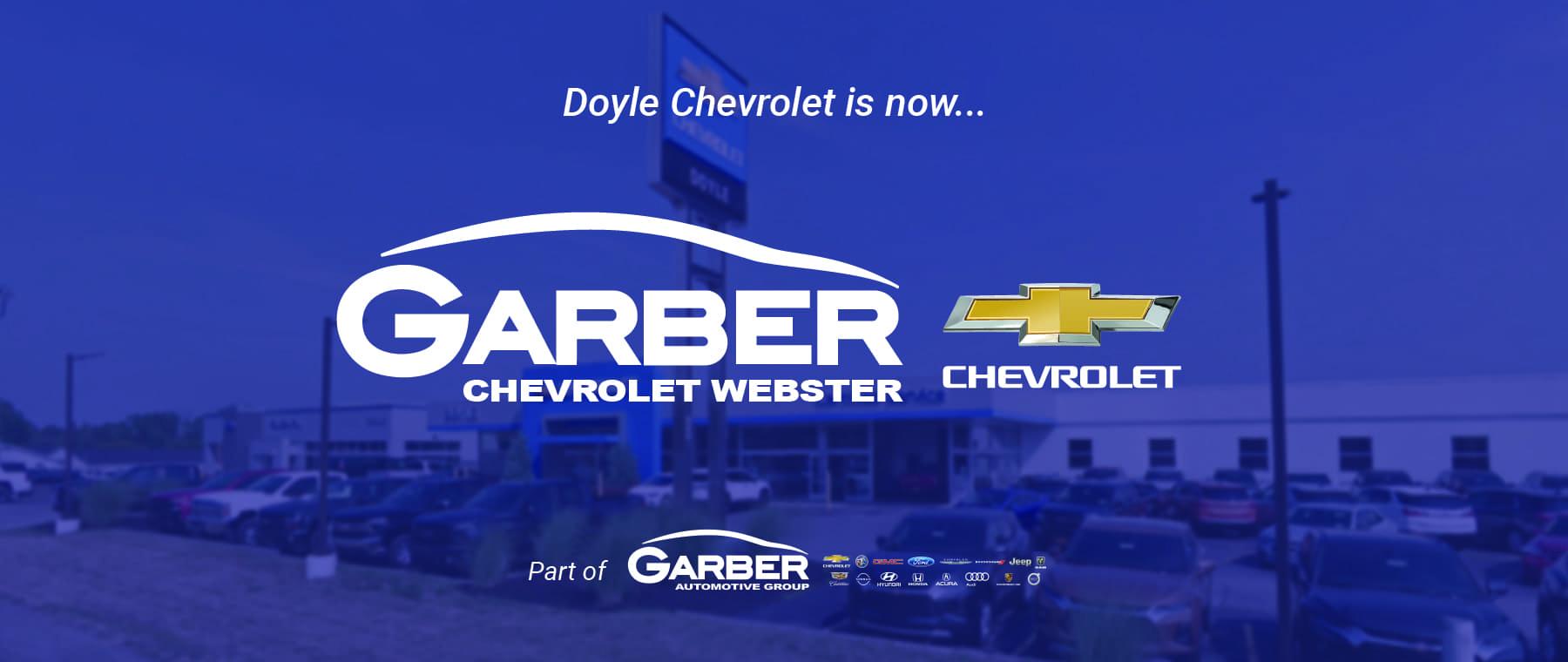 Doyle Chevrolet – Banner
