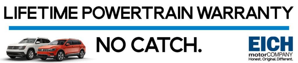 Lifetime Powertrain Warranty >> Lifetime Powertrain Warranty Eich Volkswagen St Cloud Mn