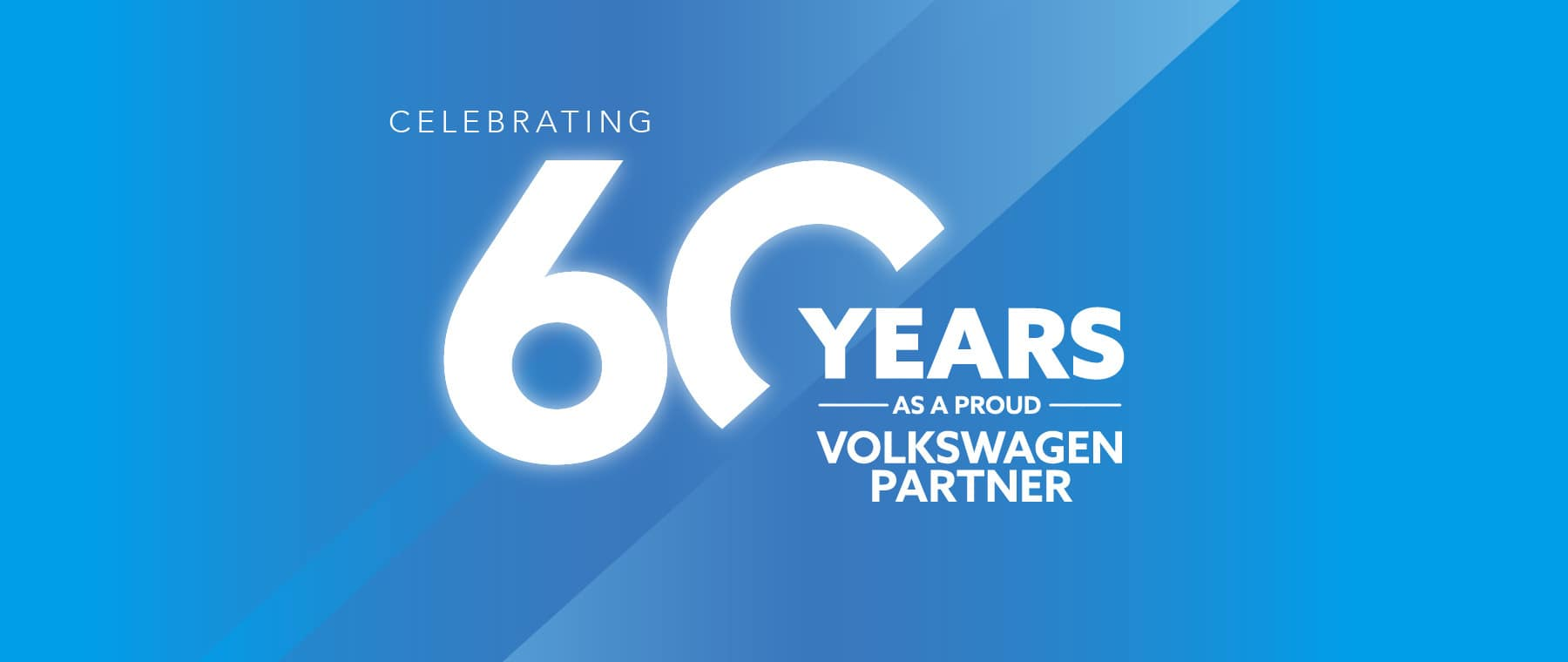 60 Years as a proud Volkswagen Partner