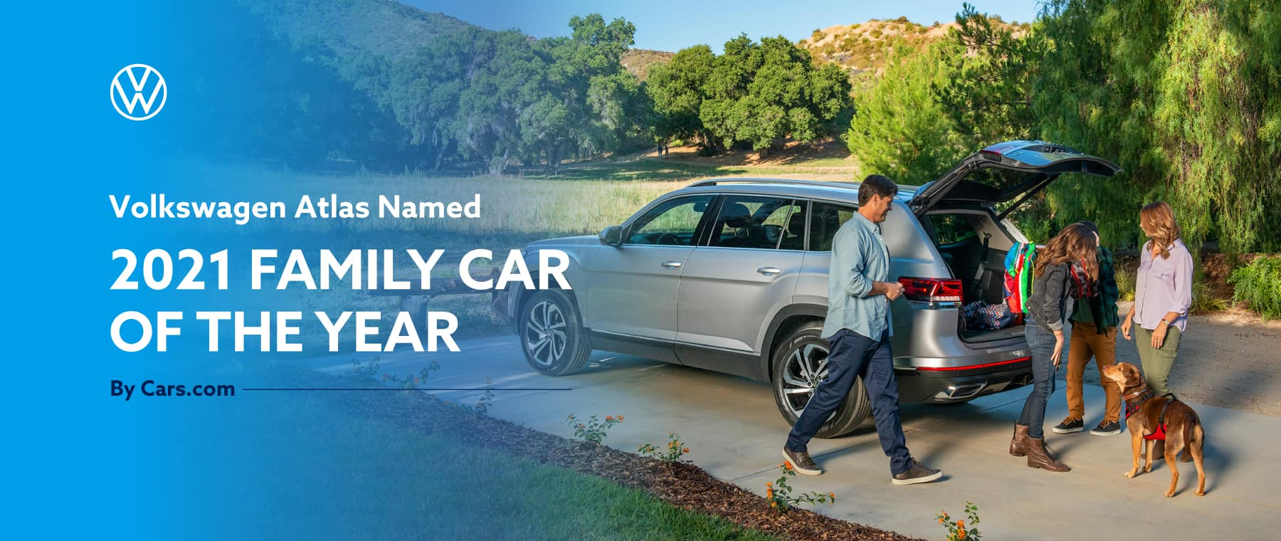 VW Atlas Named Family Car of the Year