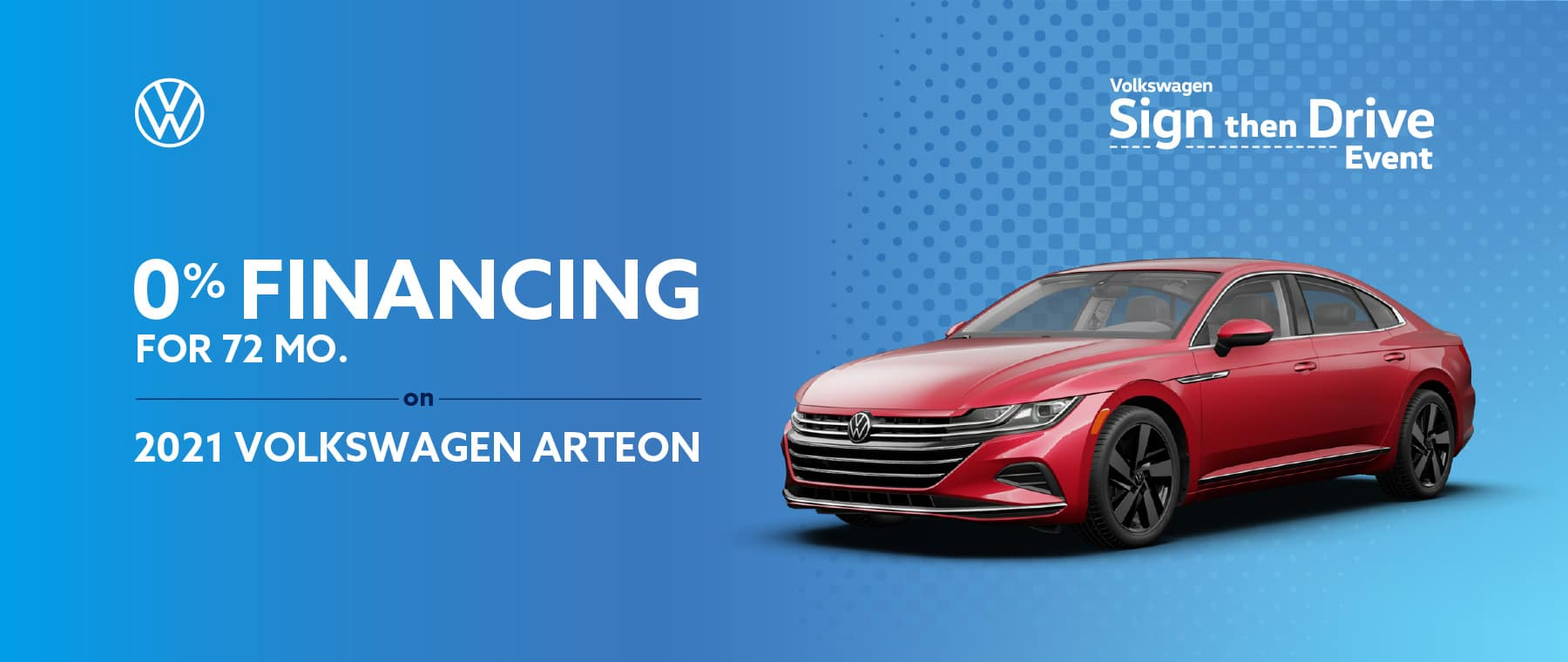 0% Financing on VW Arteon