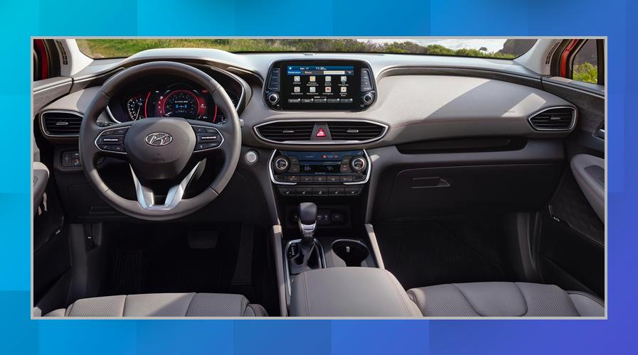 2019 Hyundai Santa Fe vs. 2019 Kia Sorento Interior and Space Chicago IL