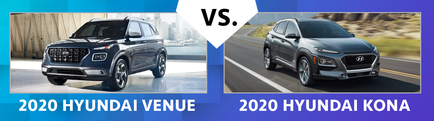 2020 Hyundai Venue vs 2020 Hyundai Kona Chicago IL