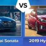 2020 Hyundai Sonata VS 2019 Sonata
