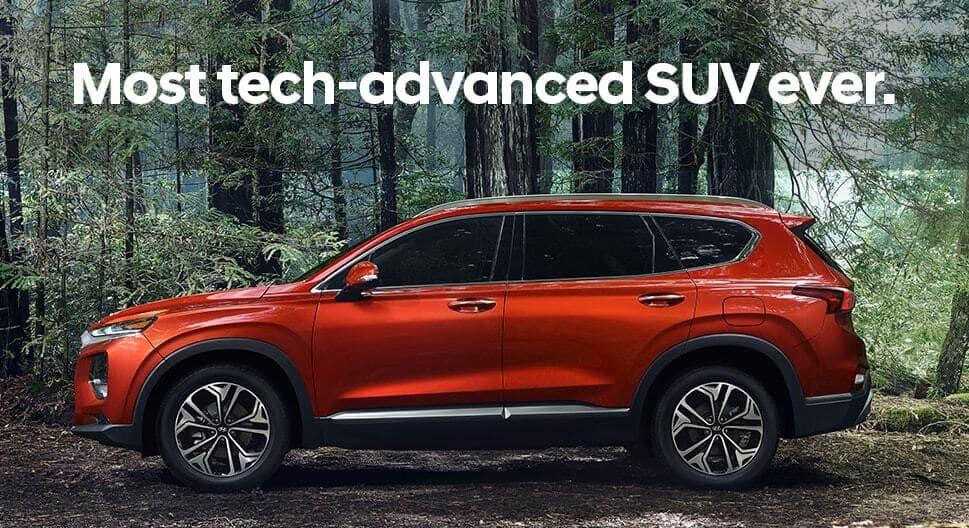New 2019 Hyundai Santa Fe SUV Chicago