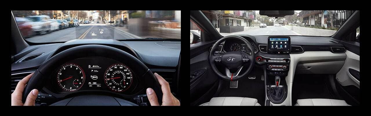 all-new 2019 Hyundai Veloster interior