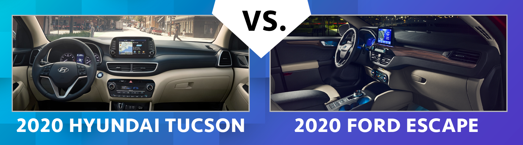 Compare 2020 Hyundai Tucson vs 2020 Ford Escape