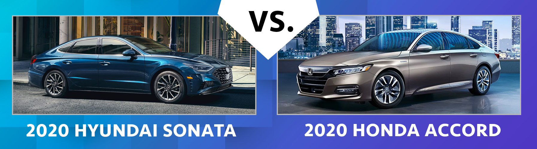 2020 Sonata vs 2020 Accord Performance