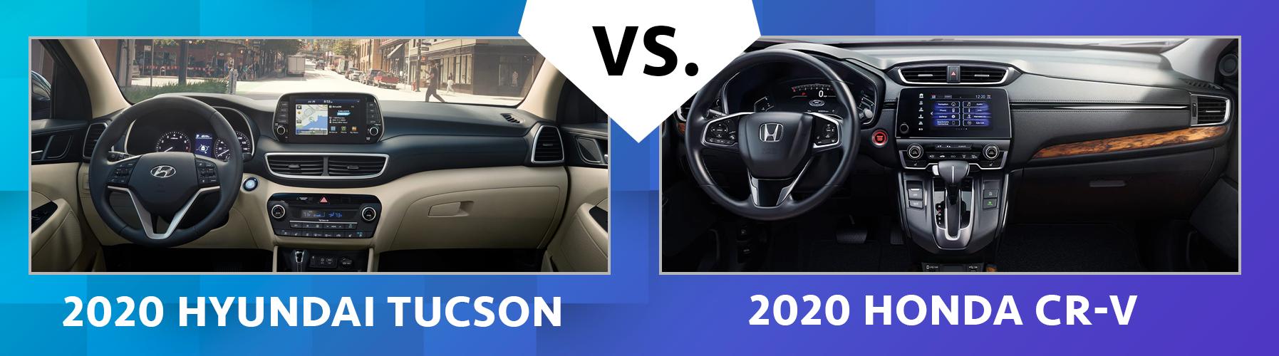 2020 Hyundai Tucson vs 2020 Honda CR-V Safety Features