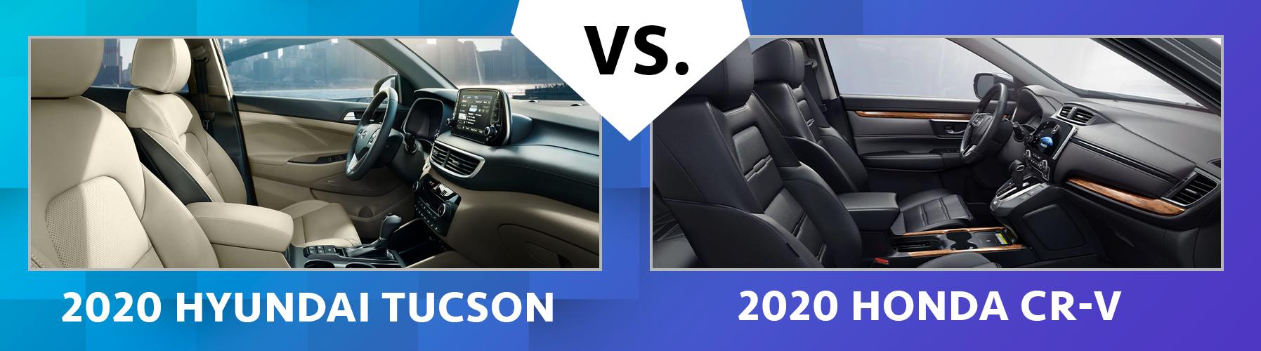 2020 Tucson vs 2020 CR-V Fuel Efficiency