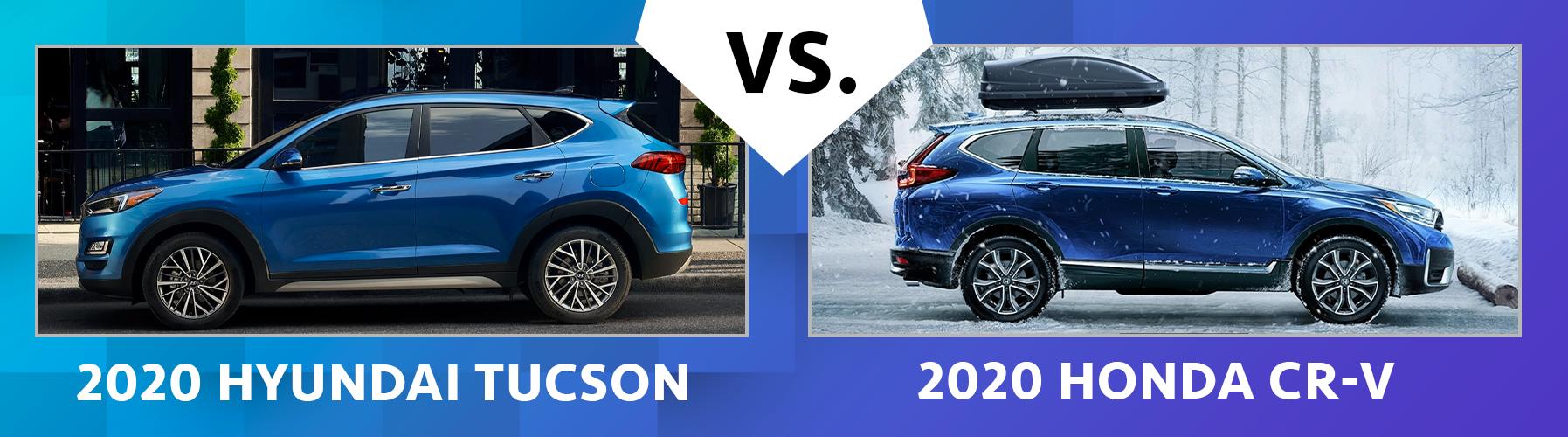 2020 Hyundai Tucson vs 2020 Honda CR-V Comfort Features