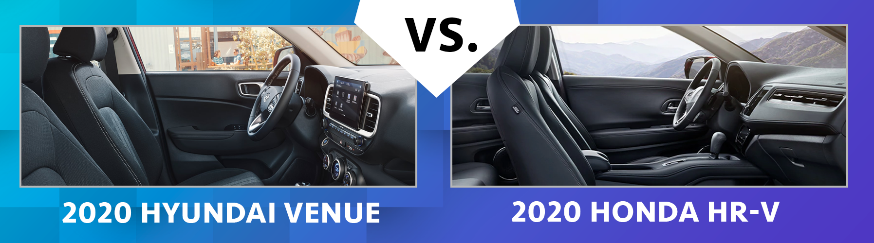 2020 Venue vs 2020 Honda HR-V