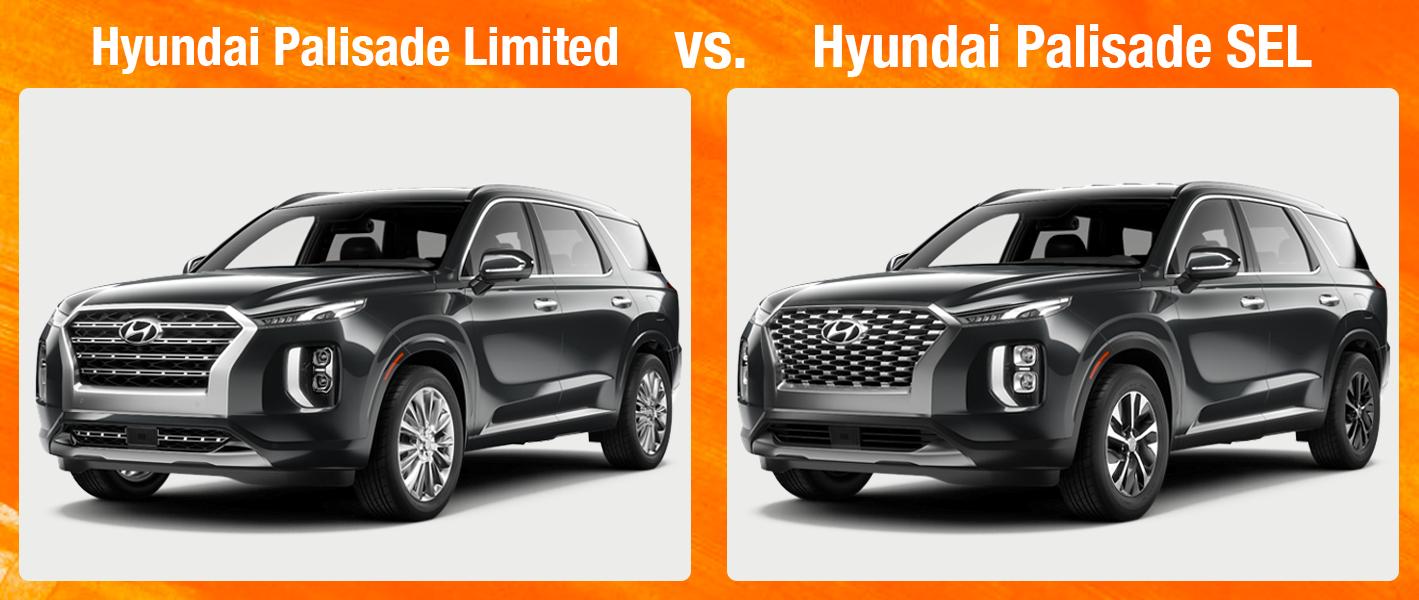 Hyundai Palisade Limited vs Palisade SEL