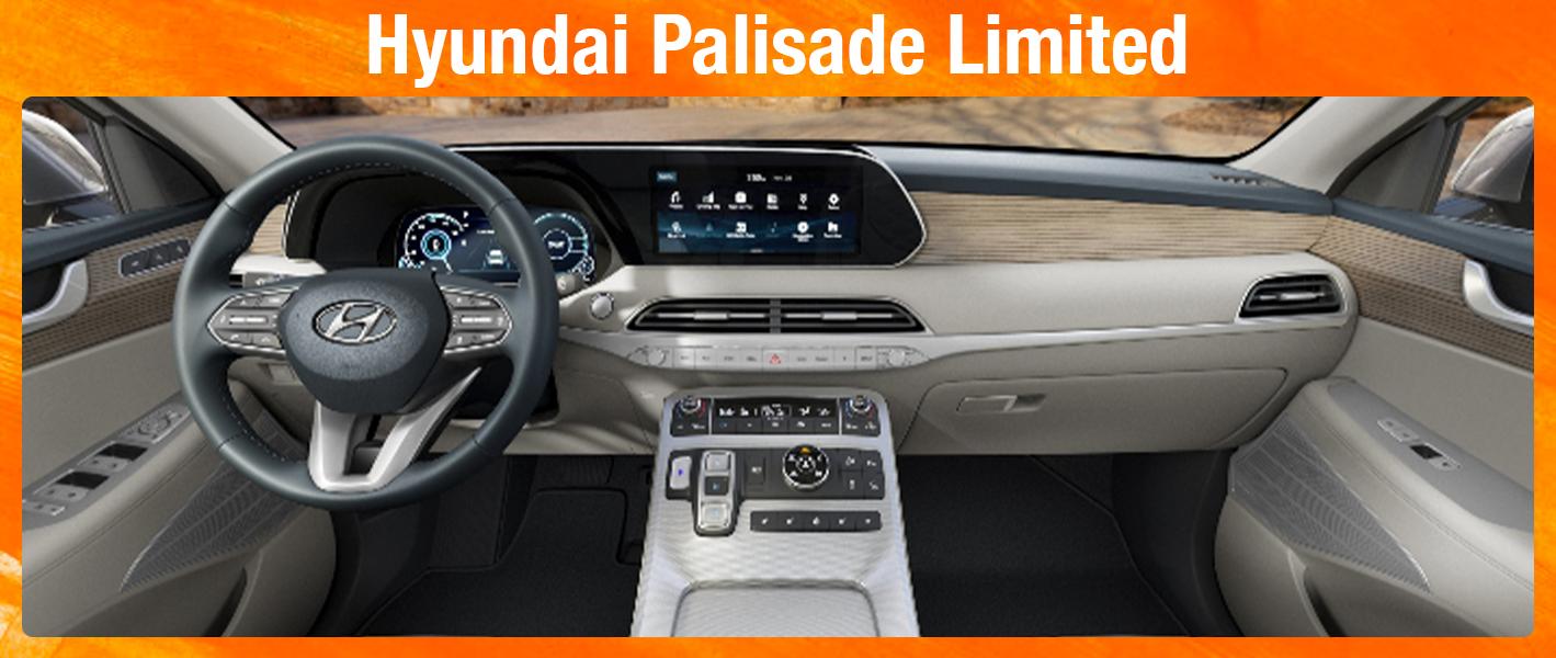 2020 Palisade Limited Family Hyundai
