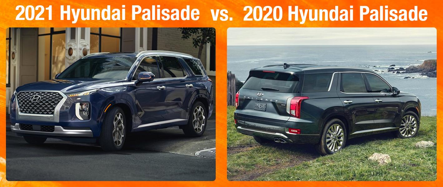 2021 Palisade vs 2020 Palisade