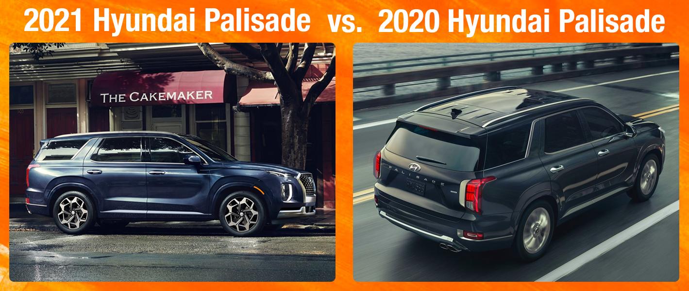 2021 Palisade vs 2020 Palisade at Family Hyundai