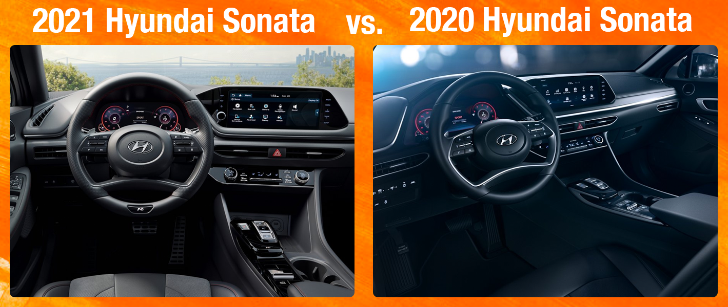 2021 2020 Hyundai Sonata