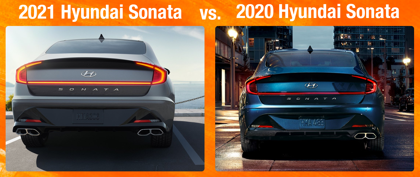 2020 Sonata vs 2021 Sonata at Family Hyundai