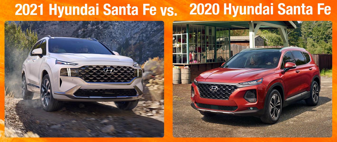 2021 Santa Fe vs 2020 Santa Fe - What's New?