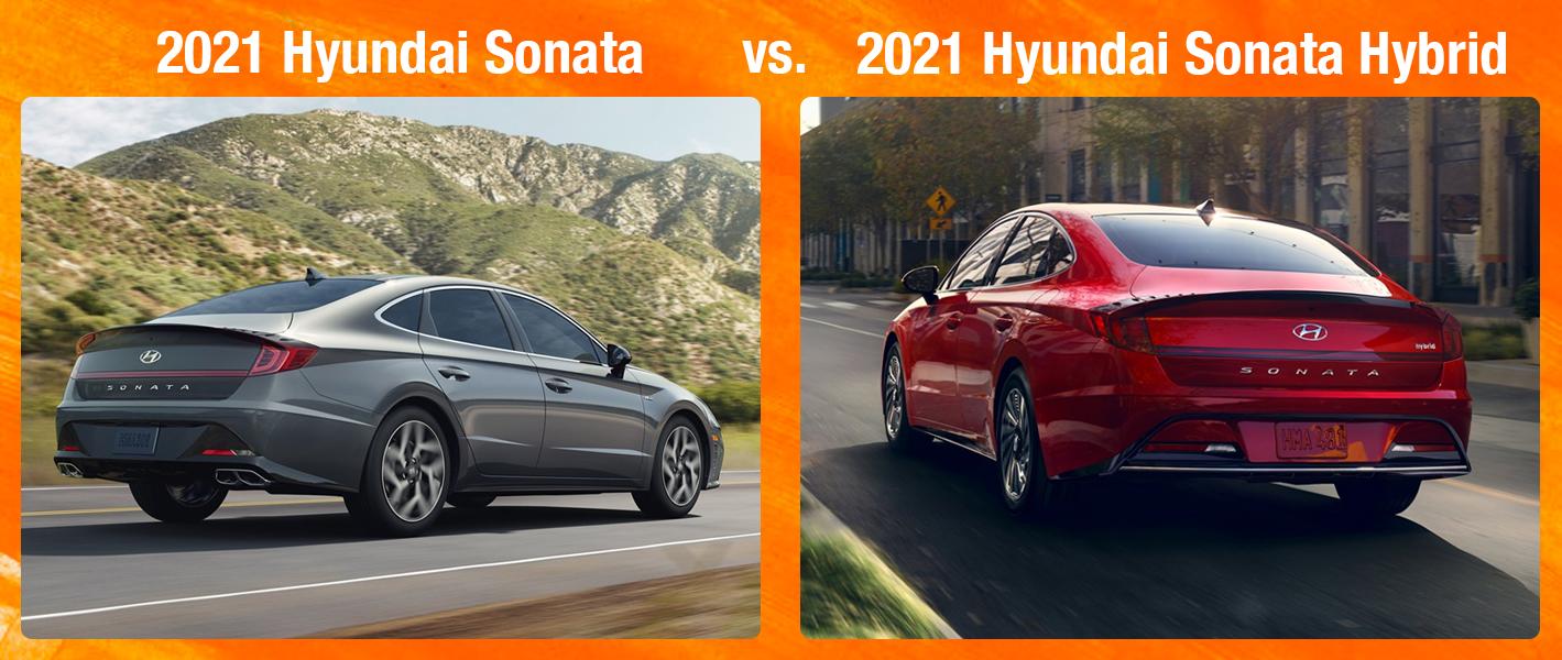 2021 Hyundai Sonata vs Sonata Hybrid