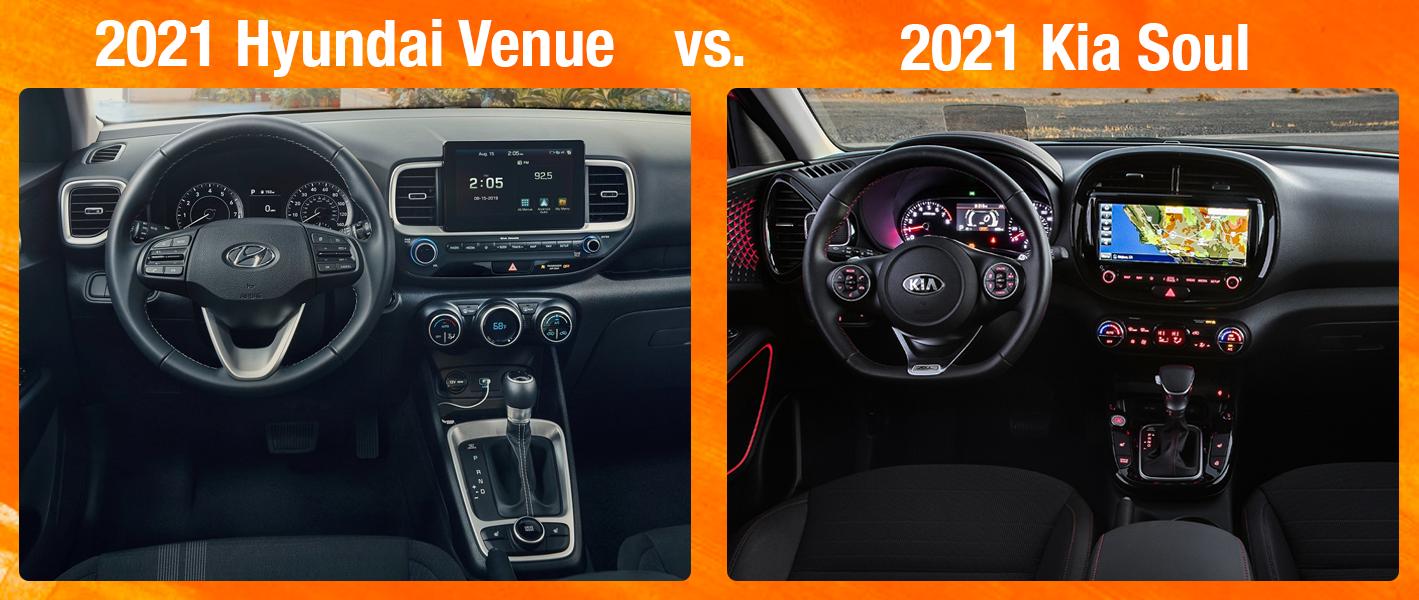 Hyundai Venue vs Kia Soul Safety