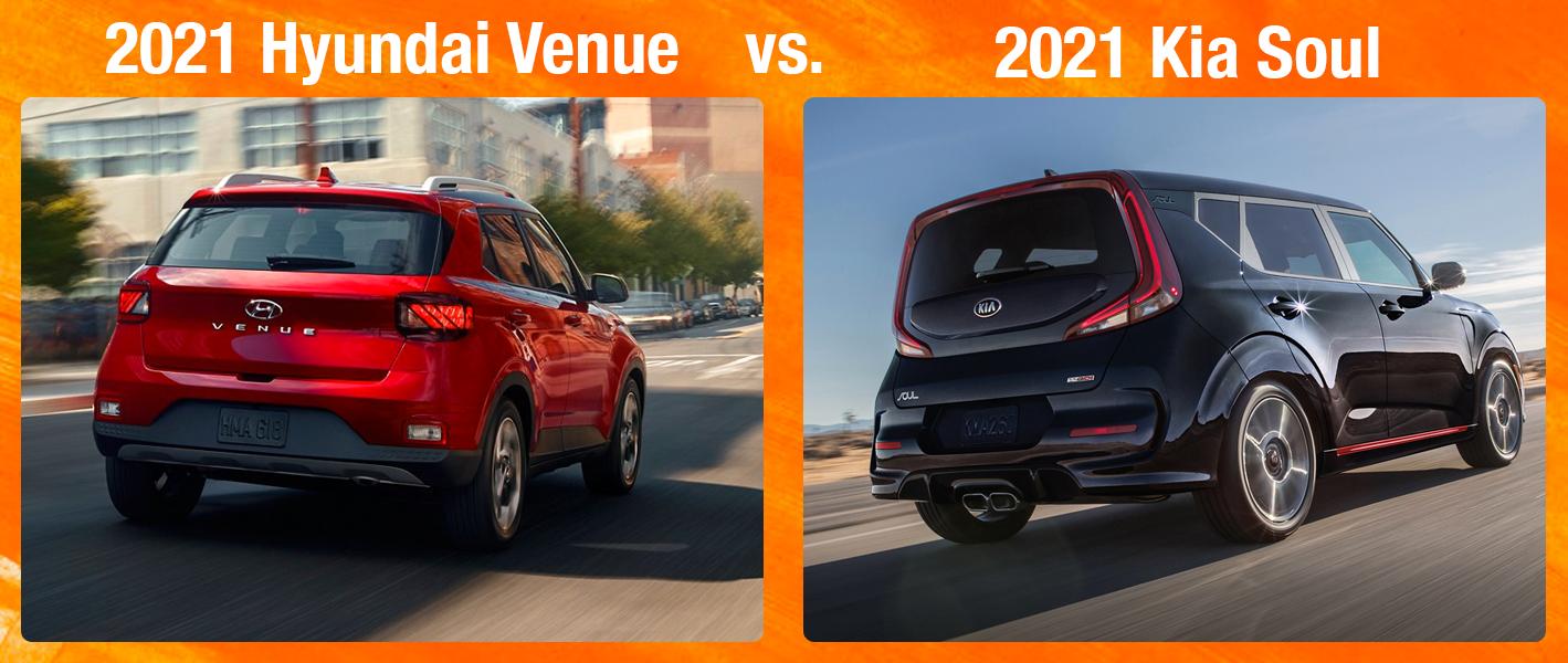 Hyundai Venue vs Kia Soul Comparison