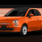 2016 fiat 500 orange