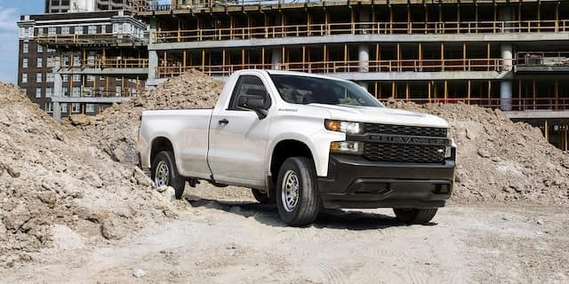 2021 Chevy Silverado Work Truck