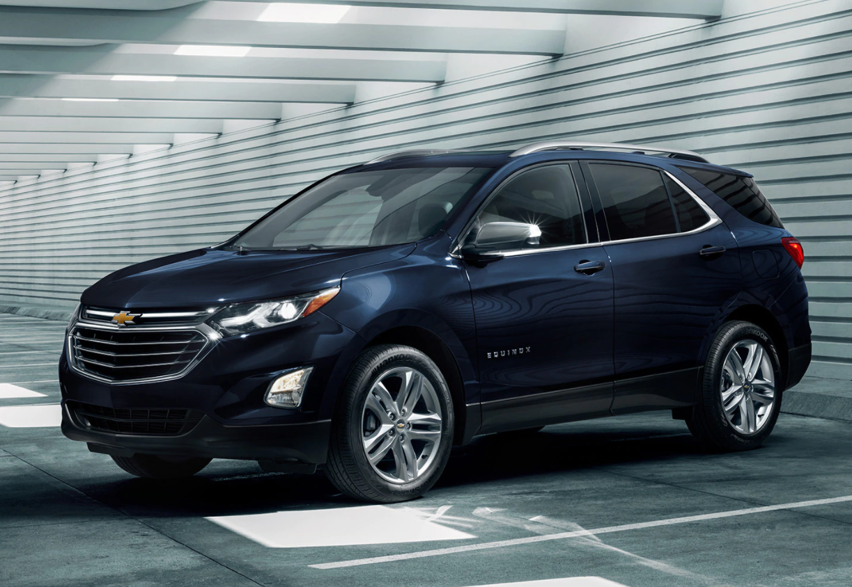 2020 Equinox - Blue - Exterior Design