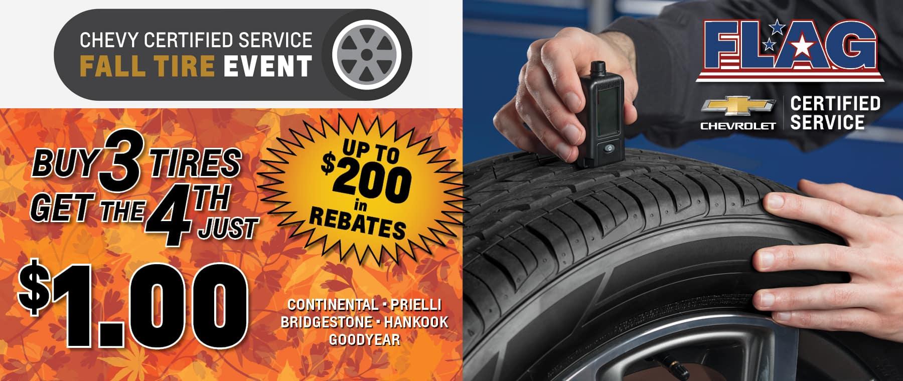tire service event